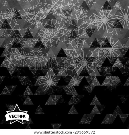 Painted paper texture, grunge background - stock vector