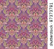 Paisley seamless pattern in editable vector file - stock vector