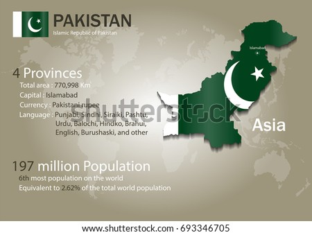 Pakistan world map country flag texture vectores en stock 693346705 pakistan world map with a country flag texture world map geography gumiabroncs Images