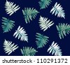 palm leaves pattern for high summer,patterns,textile - stock