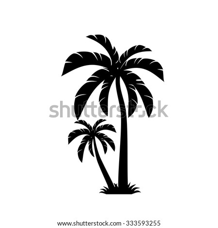 palm trees vector stock photo photo vector illustration rh shutterstock com palm tree vector file palm tree vector file