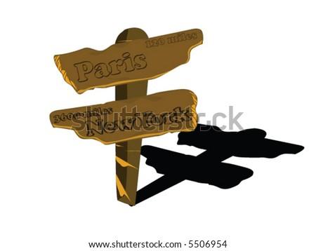 Panel - stock vector