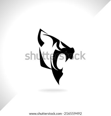Panther wild cat  - stock vector