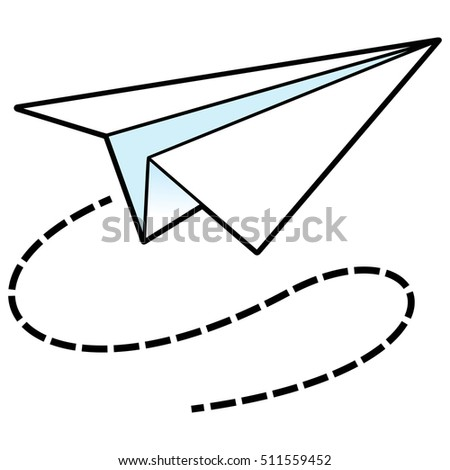 paper airplane icon stock photo photo vector illustration rh shutterstock com paper plane clipart png
