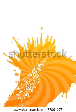 paper decoration - stock vector