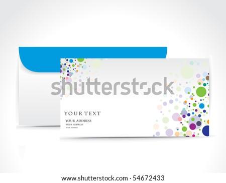 Paper envelope isolated on white background, vector illustration. - stock vector