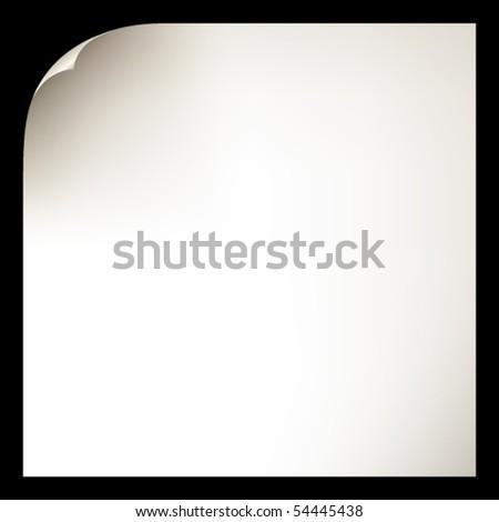 Paper in vector - stock vector