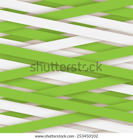 Paper lines background - stock vector