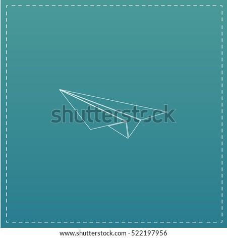 Plane icon text
