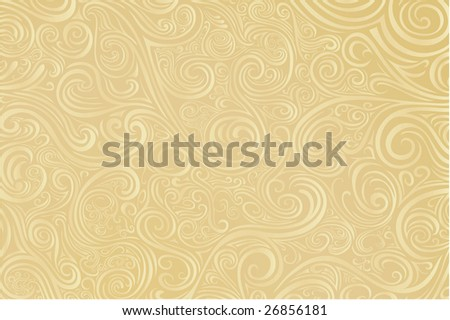 Parchment colored scrollwork -- check out my other vectors