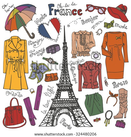 French clothes shops online