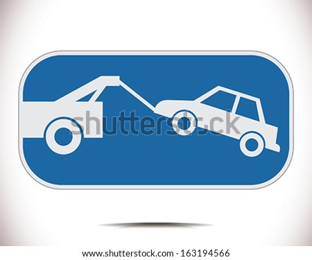 parking ban - stock vector