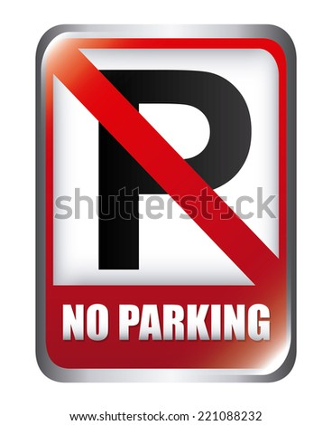 parking graphic design , vector illustration - stock vector
