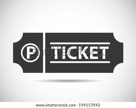 Parking Tickets - stock vector
