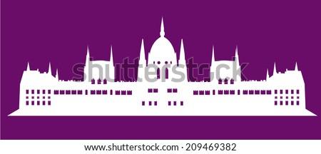 Parliament - stock vector