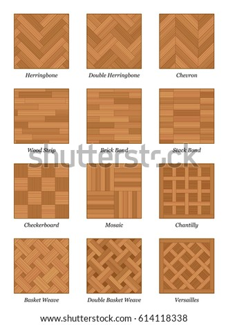 parquet pattern chart most popular parquetry stock vector 614118338 shutterstock. Black Bedroom Furniture Sets. Home Design Ideas