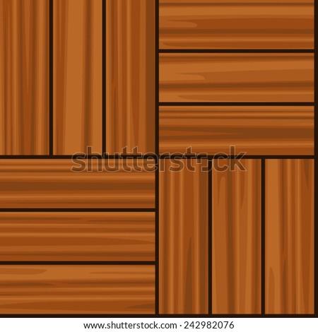Parquet tiling. Seamless vector texture - stock vector