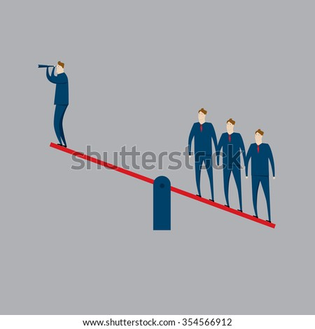 Partnership - stock vector