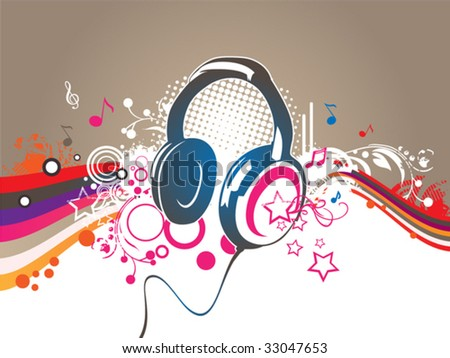 Party and music vector