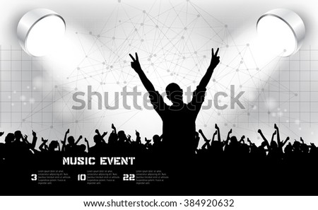 Party Background - stock vector
