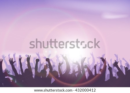 party hard - stock vector