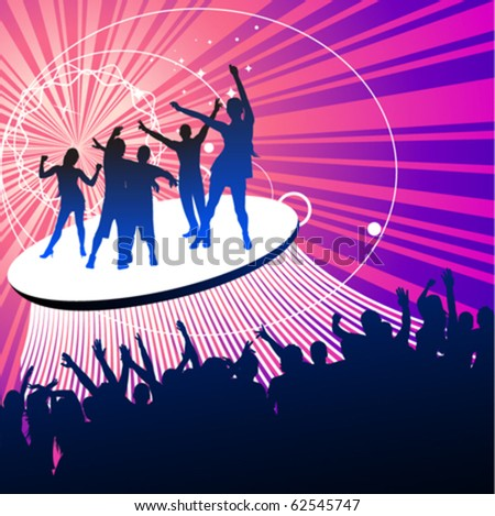 party peoples - stock vector