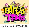 Party Time - stock vector