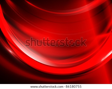 passion red abstract background - stock vector