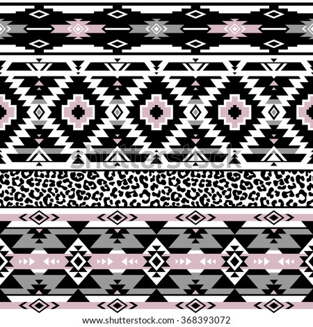 Tribal pattern pastel