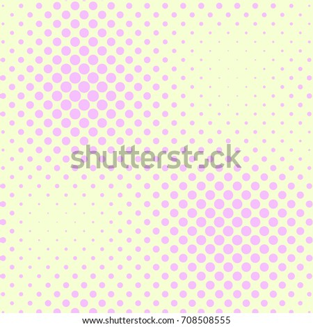 Pastel Yellow And Pink Color Halftone Vector Background Candy Tile Pale