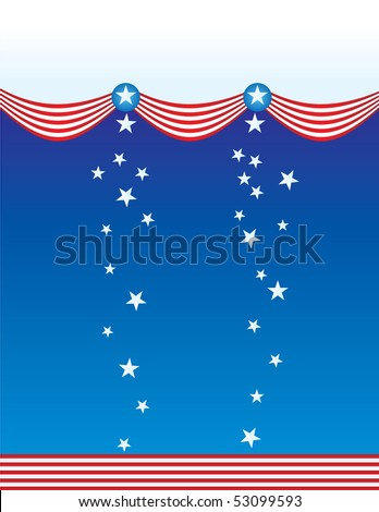 patriotic american july vector
