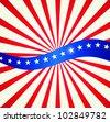 Patriotic background - stock vector