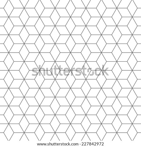 Pattern background 16, cubes pattern  - stock vector