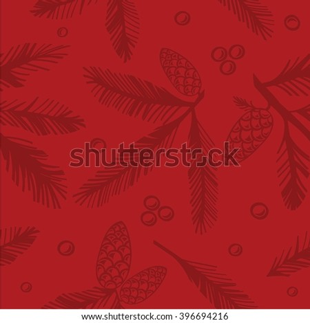 Pattern. Design for Christmas or New year. wrapping-paper or gift card - stock vector