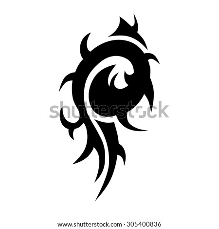 tattoo dragon design stock vector 2340109 shutterstock