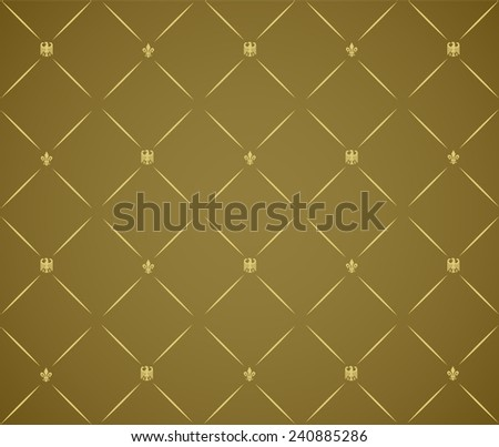 Pattern from decorative elements in a grey tonality - stock vector