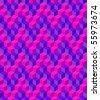 pattern - geometric wave - stock vector