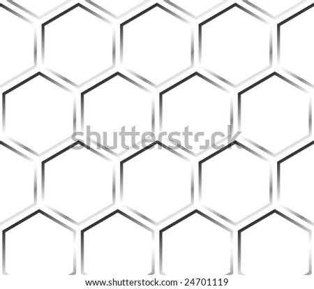Pattern, honeycomb - stock vector