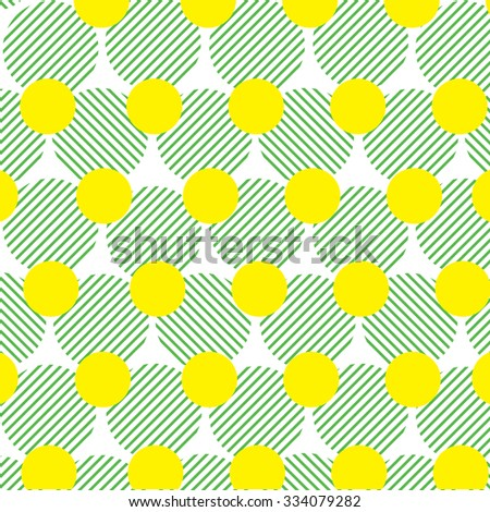 pattern of circles background - stock vector