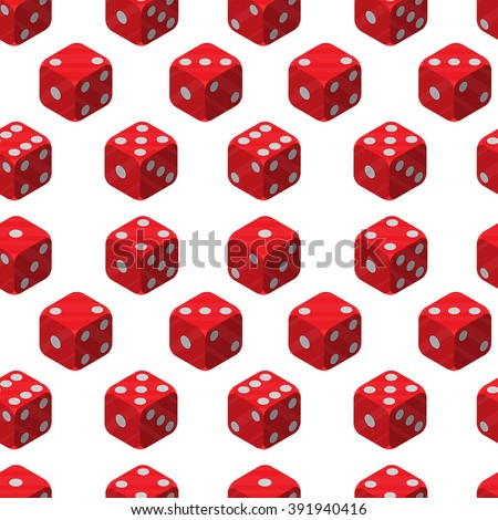 Pattern of dice