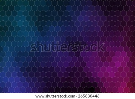 Pattern of geometric shapes for web design - stock vector