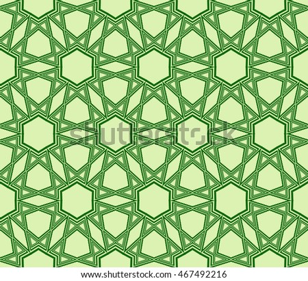 pattern of hexagons. vector illustration. green. for design, wallpaper, graphic arts, presentations
