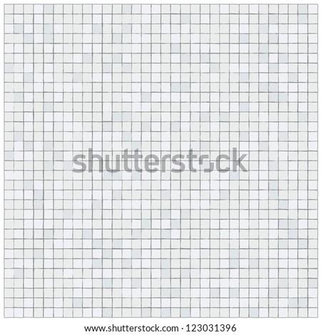 Pattern of irregular little tiles - stock vector