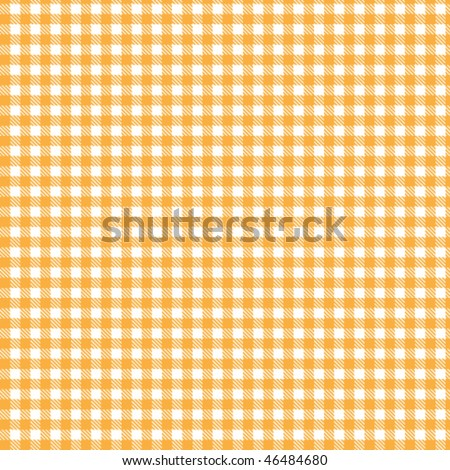 Pattern orange picnic - stock vector