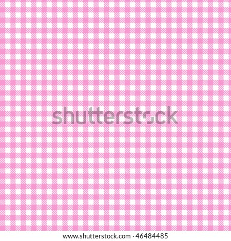 Pattern pink picnic - stock vector