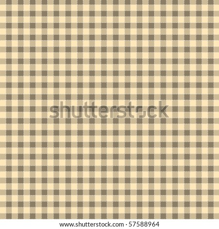 Pattern tablecloth picnic vector - stock vector
