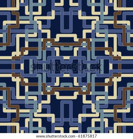 Pattern tiling - stock vector