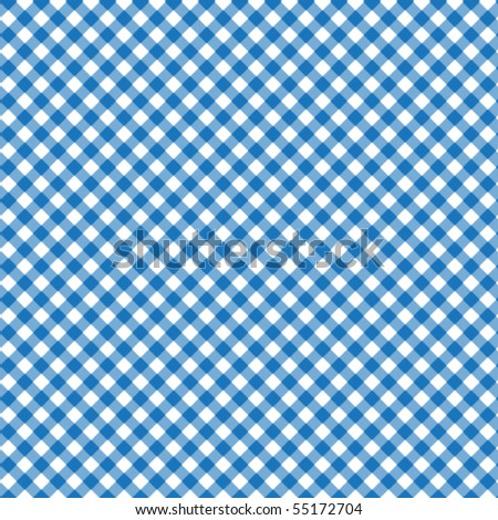 Pattern vector picnic blue - stock vector