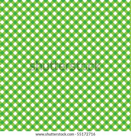 Pattern vector picnic green - stock vector