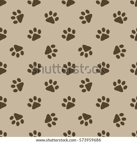 Animal foot prints patterns - photo#17